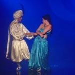 """Espetáculo """"Aladdin"""" em cartaz no sábado (25)"""