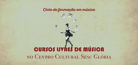 Inscrições abertas para os Cursos Livres de Música no Sesc Glória