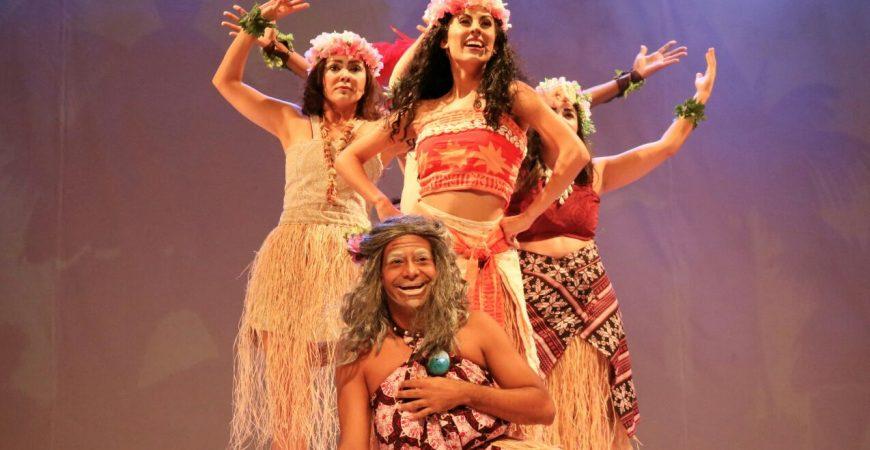 Moana, O Musical estará em cartaz no 1 de julho, no Teatro Glória