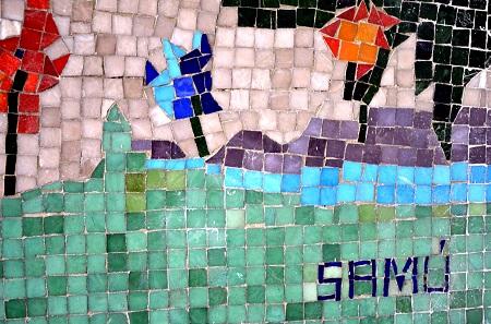 Mosaicos Murais em Vitória são tema de bate-papo no Sesc Glória no dia 26