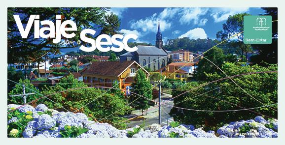 Venha viajar com o Sesc para Gramado (Natal Luz)!