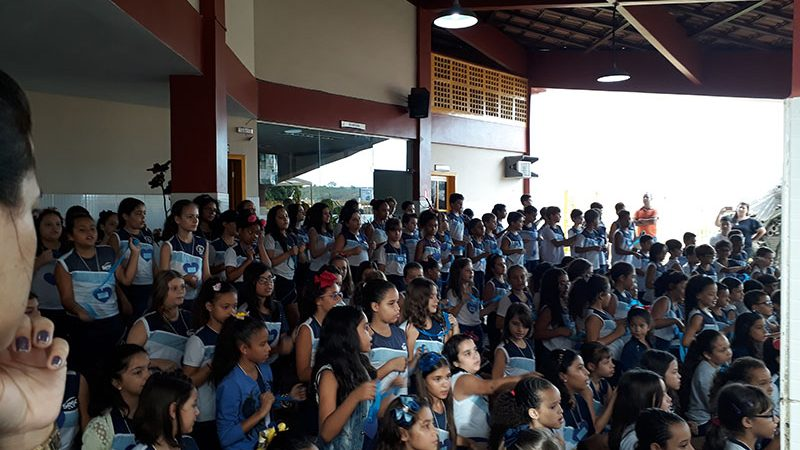 Novembro Azul na Escola do Sesc Colatina