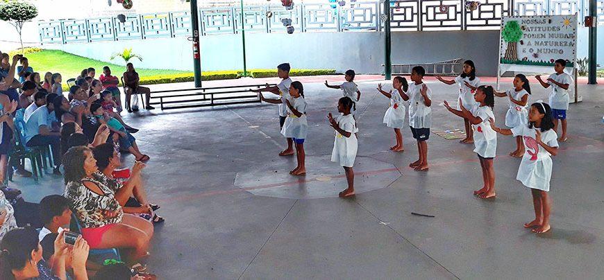 Festival Cultural no Sesc de Cariacica: nossas atitudes podem mudar a natureza e o mundo