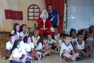 Papai Noel na Escola do Sesc Colatina