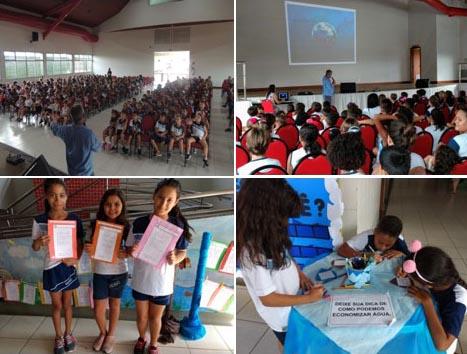 Dia da água no Sesc Linhares