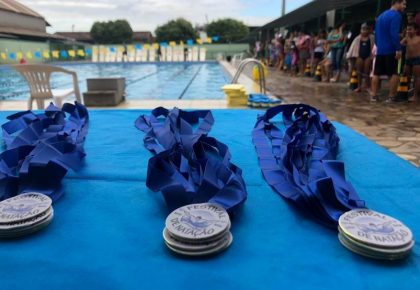 Festival de natação no Sesc Vila Velha