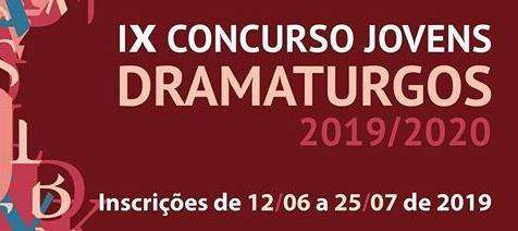 Inscrições abertas até 25 de julho para IX Concurso Jovens Dramaturgos
