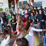 Festa no retorno as aulas no Sesc de Colatina