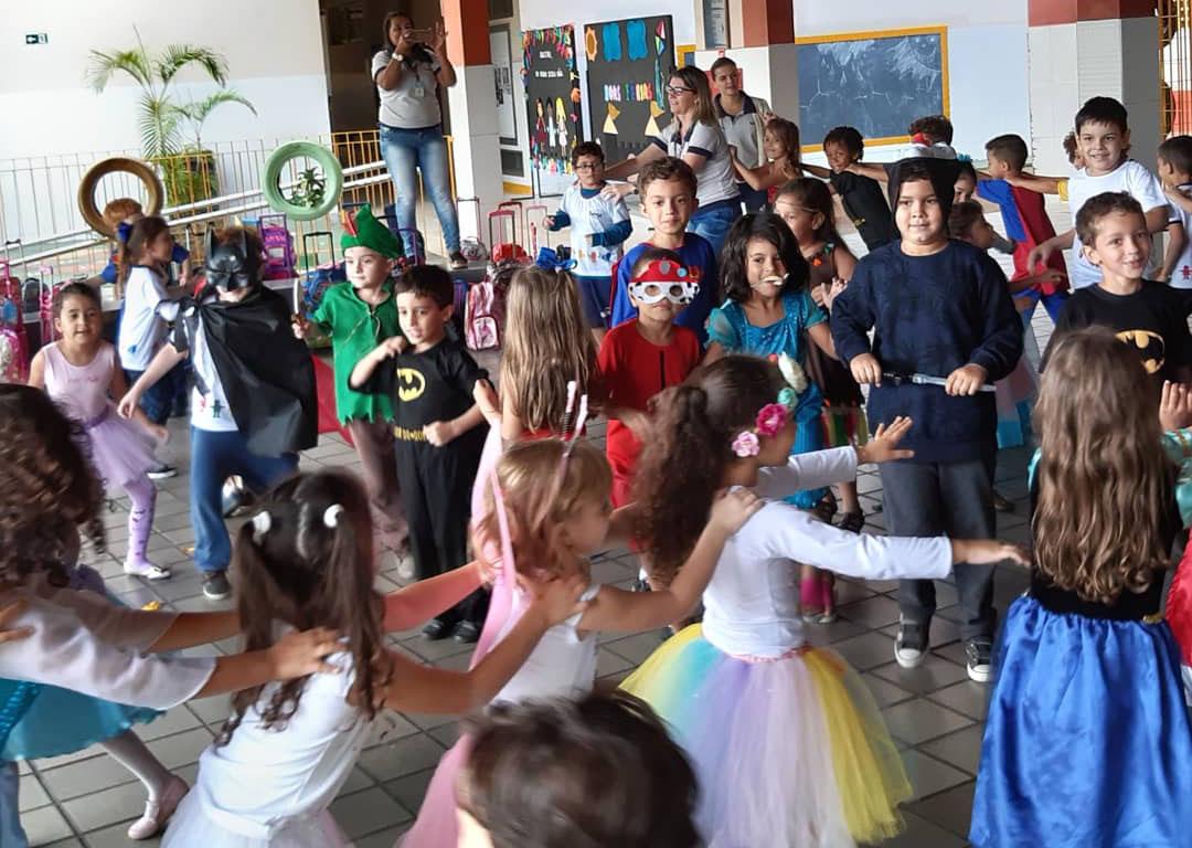 Festa no retorno as aulas no Sesc de Colatina