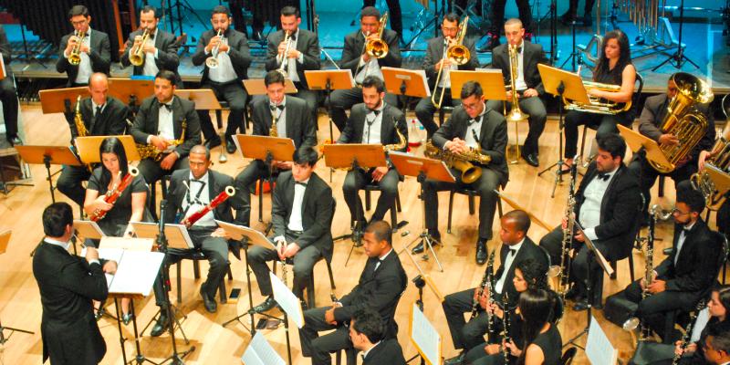 Orquestra Jovem de Sopro e Percussão da Fames