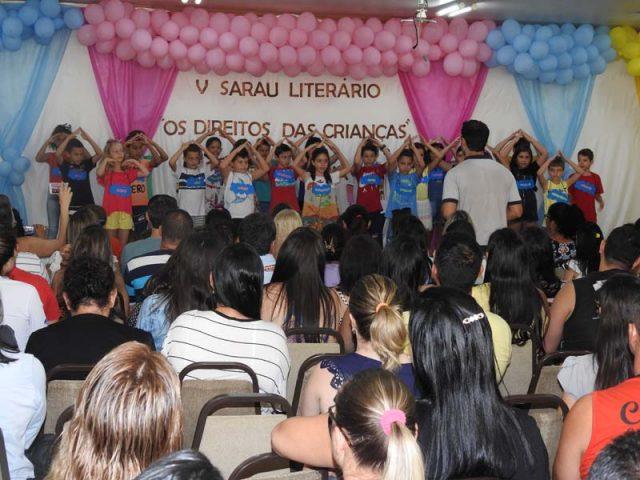 O Sarau Literário no Sesc Colatina foi um sucesso!