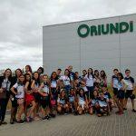 Alunos da Escola Sesc de Linhares visitam o Supermercado Oriundi