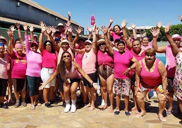 Aulas especiais com tema do Outubro Rosa no Sesc Vila Velha