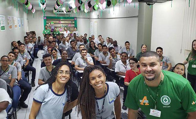 Centro Esportivo Vila Velha palestra sobre importância do exercício físico
