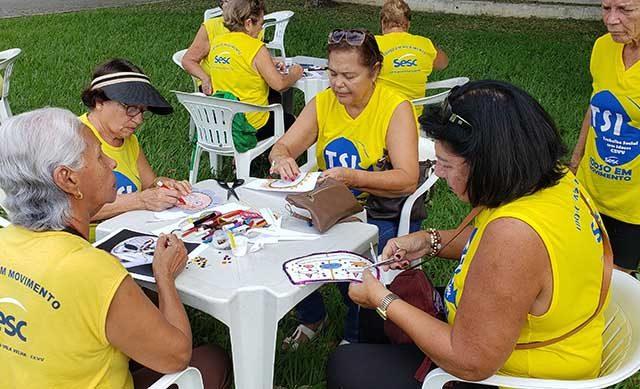 Inicio das atividades do TSI no Sesc Vila Velha