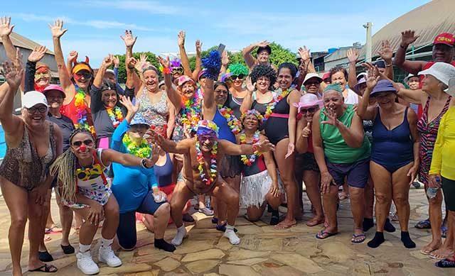 Carnaval da Hidroginástica do CEVV – DFE