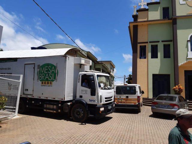 Mesa Brasil Entrega Doações nas Cidades Atingidas por Enchentes
