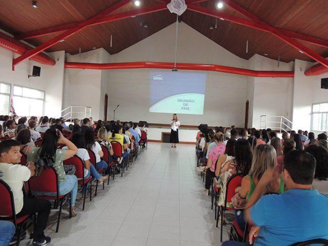 Reunião de Pais na Escola Sesc Linhares