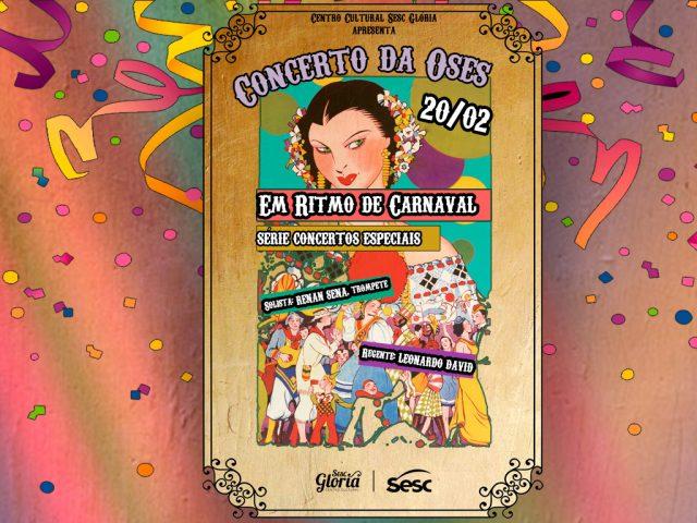 Um carnaval de sons em concerto comemorativo da Orquestra Sinfônica do Espírito Santo