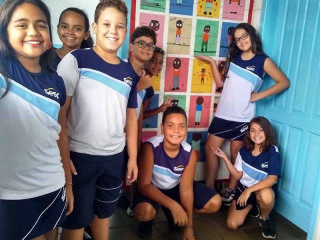 Início das Aulas na Escola Sesc de Vila Velha