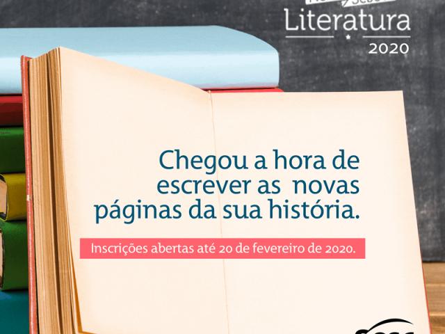Prêmio Sesc de Literatura 2020: Inscrições abertas até 20 de fevereiro