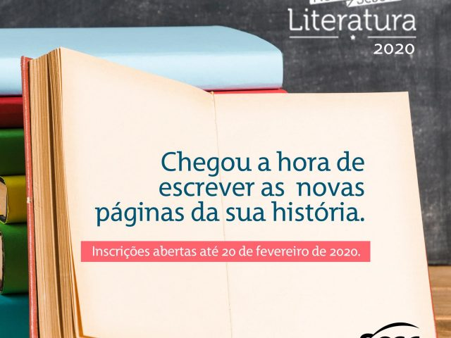 Inscrições para o Prêmio Sesc de Literatura terminam dia 20 de fevereiro