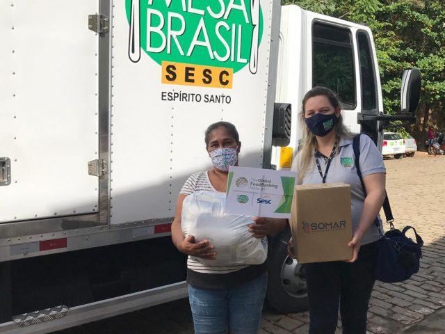 Mesa Brasil Sesc/ES: parceria com a Global Foodbanking Network (GFN)