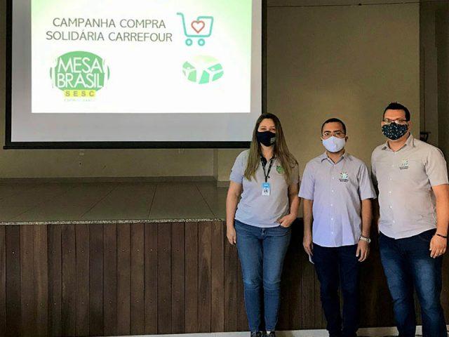 Mesa Brasil e Grupo Carrefour Brasil