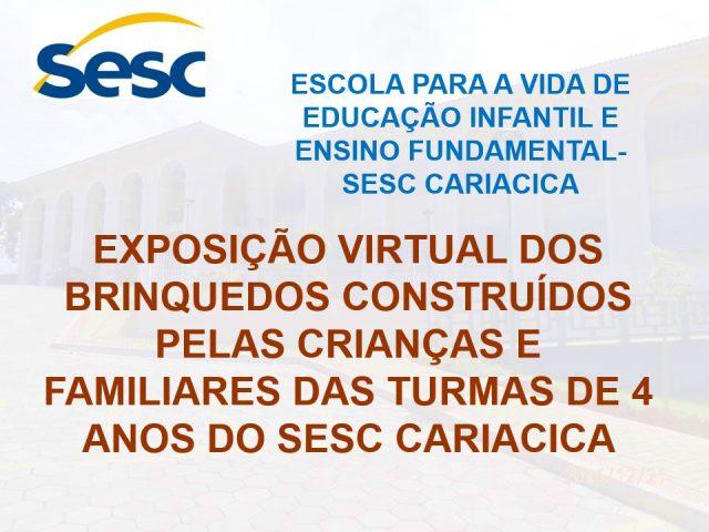 Exposição virtual dos brinquedos – Sesc Cariacica