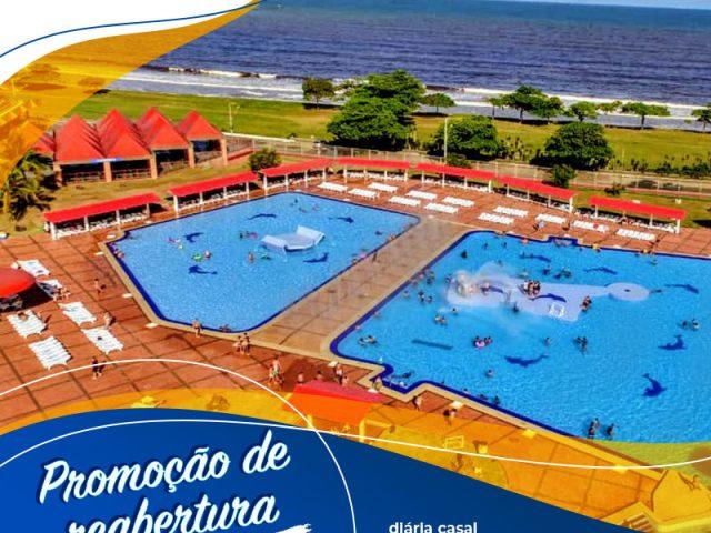 Sesc Praia Formosa: liberada a área de lazer e piscinas para os hóspedes