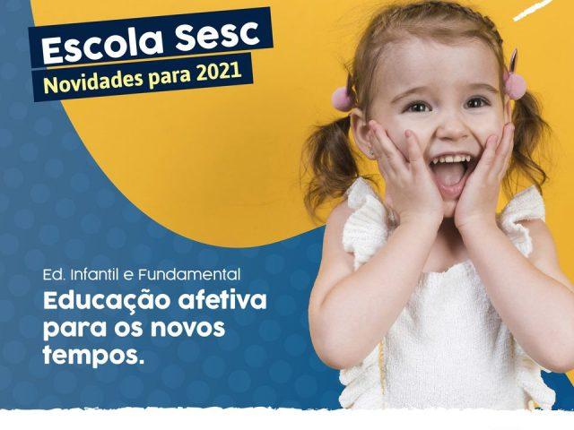 Escola Sesc: novidades para 2021