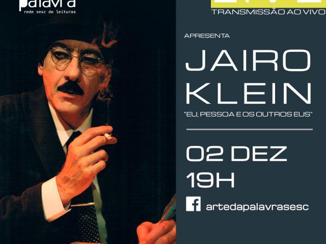 Arte da Palavra   Circuito de Oralidades com Jairo Klein