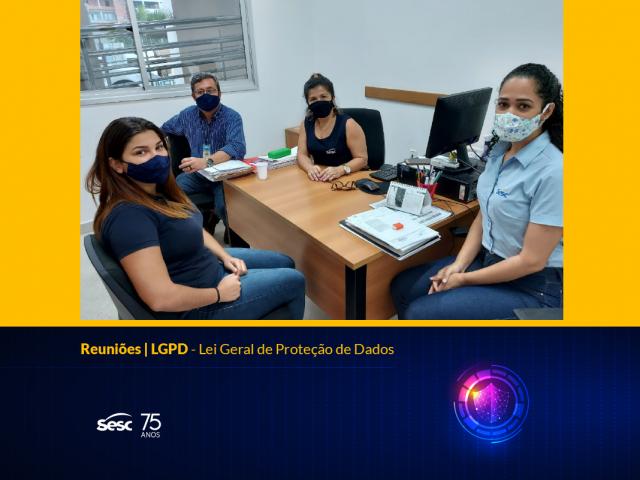 Reuniões | LGPD – Lei Geral de Proteção de Dados