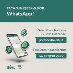 Faça sua Reserva por WhatsApp!